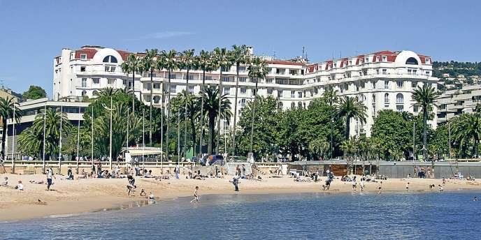 Cannes, l'hotel Majestic.