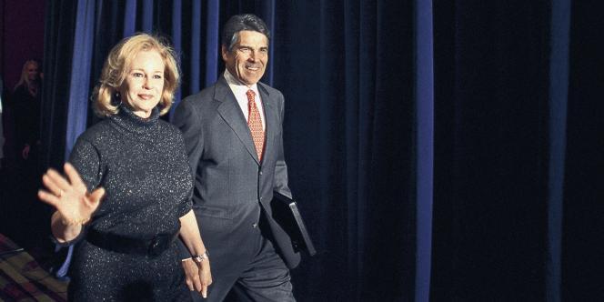 Rick Perry et sa femme Anita.