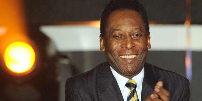Pelé, le 9 janvier 2012 à Zurich lors de la cérémonie du Ballon d'Or.