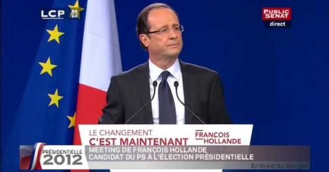 La promesse d'une « taxe sur toutes les transactions financières avec ceux en Europe qui voudront la mettre en place avec nous » figurait en bonne place dans le discours du Bourget de François Hollande, le 22 janvier.