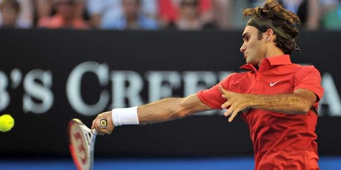 Lors de la demi-finale de l'Open d'Australie, Roger Federer et Rafael Nadal joueront pour la 27e fois face à l'autre. Melbourne, le 26 janvier.