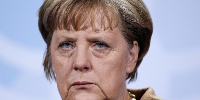 La chancelière Angela Merkel, le 19 janvier 2012.