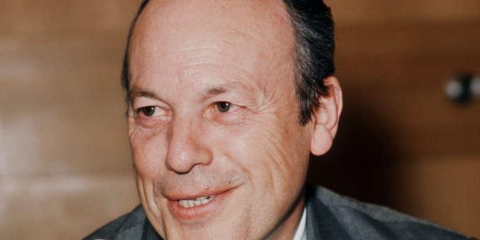 Pierre Sudreau, le 13 février 1975.