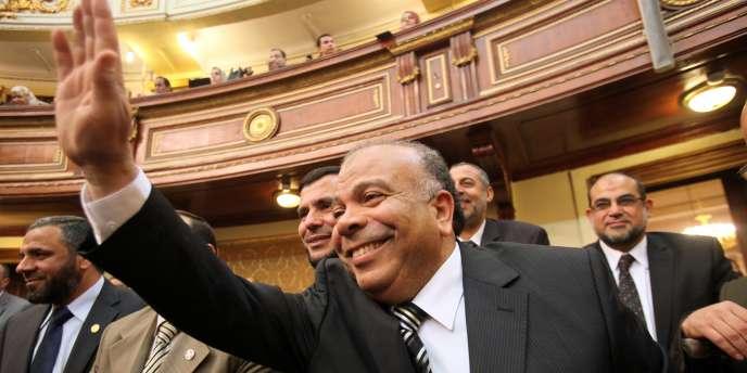 Saad Al-Katatni, secrétaire-général du Parti de la justice et de la liberté issu des Frères musulmans, a été élu président de l'Assemblée du peuple égyptienne le 23 janvier.