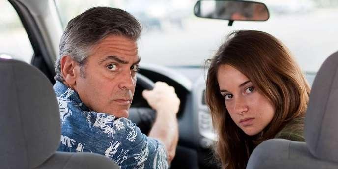 George Clooney et Shailene Woodley dans le film américain d'Alexander Payne,