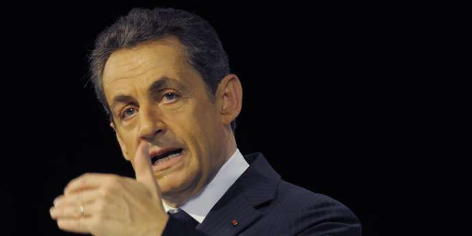 Nicolas Sarkozy lors de sa visite en Guyane, le 22 janvier 2012.
