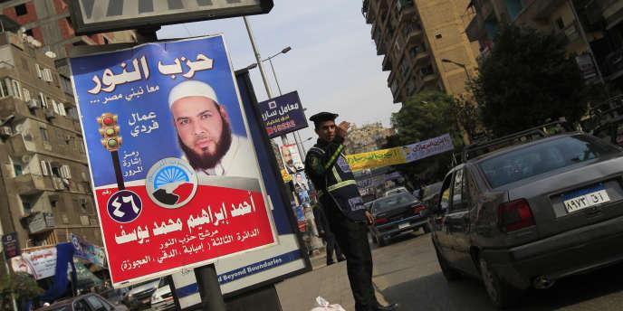 Le parti salafiste Al-Nour, qui a obtenu 24,4 % des voix dans la première phase du scrutin, se pose en challenger de taille face aux Frères musulmans.