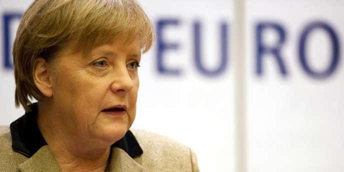 Angela Merkel, le 23 janvier 2012, à Berlin.