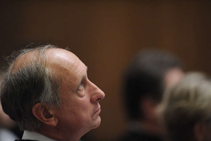 Le procureur de Nanterre Philippe Courroye en septembre 2010.