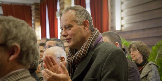 Martin Forst, à la mairie de Limoges.