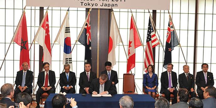 Huit autres pays, dont les Etats-Unis, avaient déjà signé le texte en octobre.