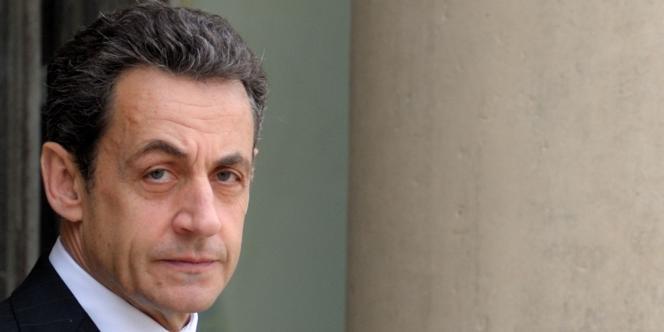 Nicolas Sarkozy, le 11 janvier 2012, à l'Elysée.