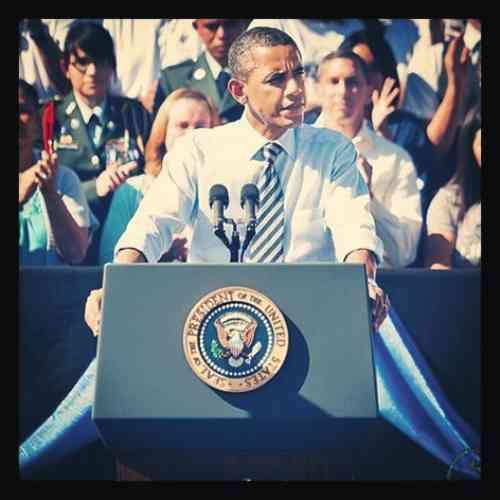 Photo: compte instagram de Barack Obama