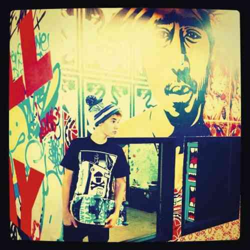 Photo: compte instagram de Justin Bieber