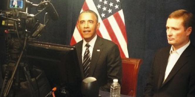 La première photo postée par Barack Obama sur Instagram.