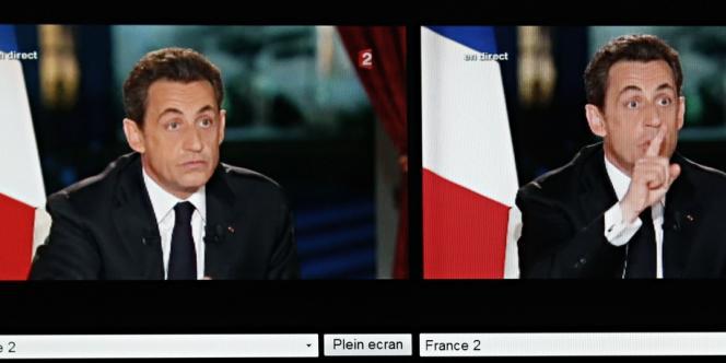 Nicolas Sarkozy, le 29 janvier 2012.