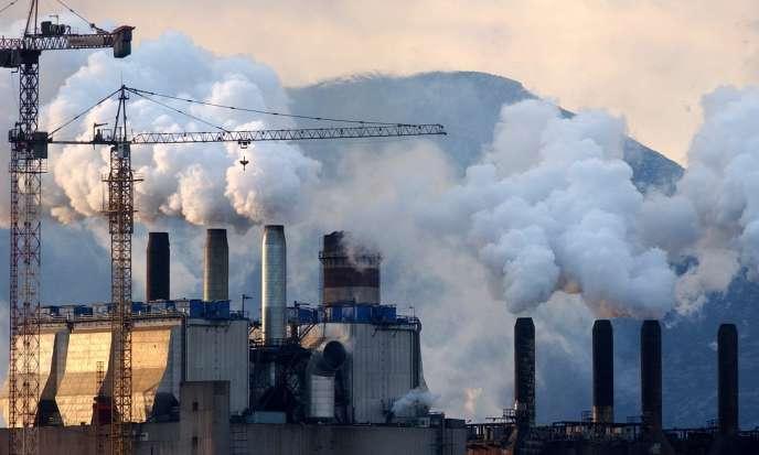 Les émissions de CO2 ont atteint un nouveau record, en atteignant 39,3 milliards de tonnes en 2013.