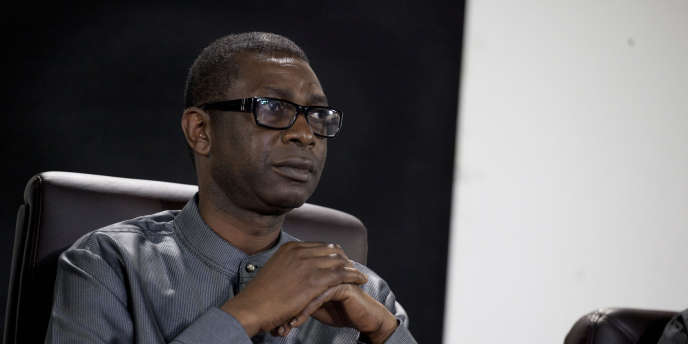 Le chanteur et candidat à la présidentielle sénégalaise Youssou N'Dour avait vu sa candidature invalidée par la Cour constitutionnelle. A Dakar le 31 janvier 2012.
