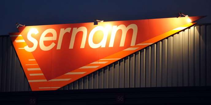 Entrepôt Sernam à Sainghin-en-Mélantois.