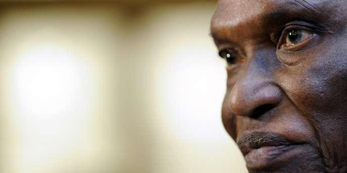 Abdoulaye Wade, en janvier 2010 à Davos.