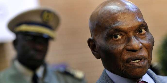 L'ancien président du Sénégal, Abdoulaye Wade.