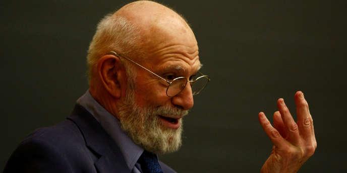 Le neurologue et écrivain britannique Oliver Sacks à New York en juin 2009.