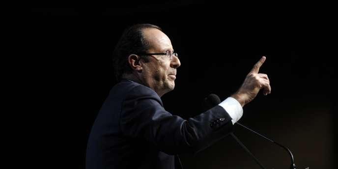 François Hollande, le 30 janvier.