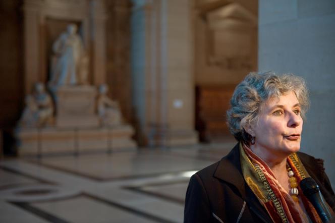 Catherine Picard, présidente de l'UNADFI, le 27 octobre 2009.