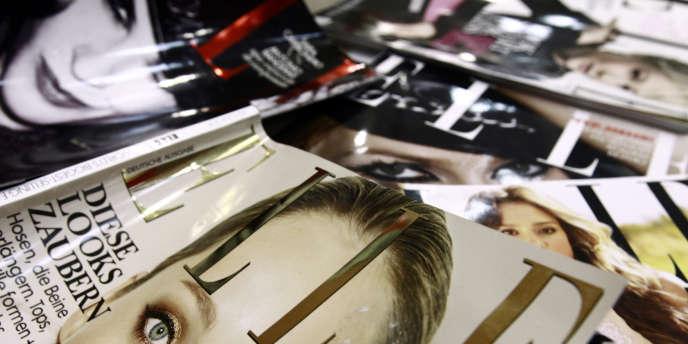 Des couvertures du magazine
