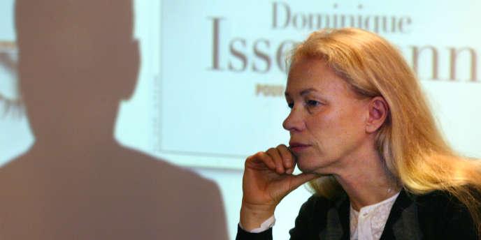 La photographe Dominique Issermann à Paris en mai 2004.