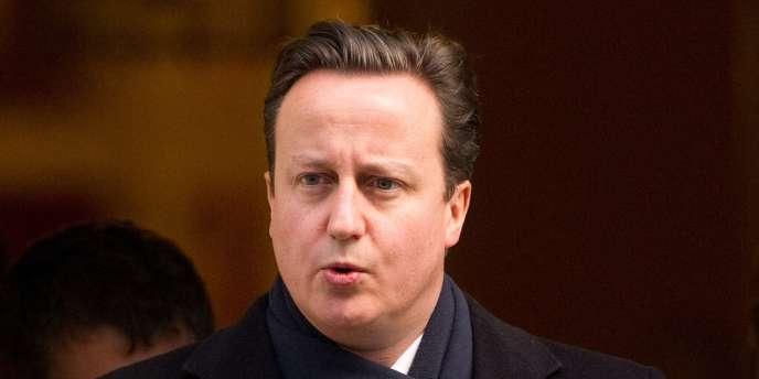 Le premier ministre britannique, David Cameron, le 1er février à Londres.