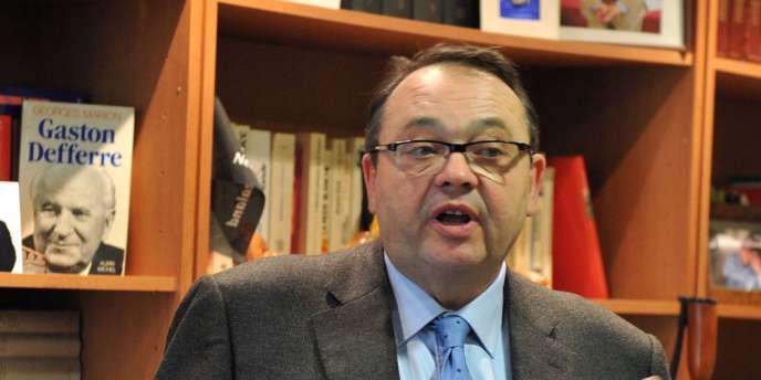 Patrick Mennucci, maire socialiste du premier secteur de Marseille.