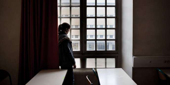 Dans une classe du lycée Marceau à Chartres.