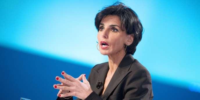 Rachida Dati, maire du VIIe arrondissement.