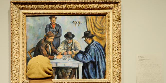 L'une des cinq versions du tableau de Paul Cézanne,