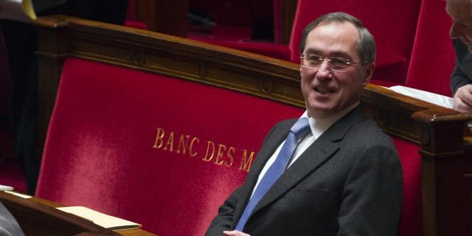 Claude Guéant à l'Assemblée le 7 février 2012.