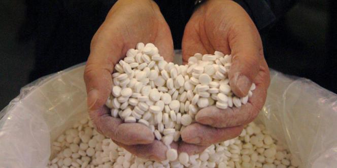 Saisie par les douanes, en décembre 2008, de quatre tonnes de pseudoéphédrine, une substance permettant de fabriquer des drogues de synthèse.