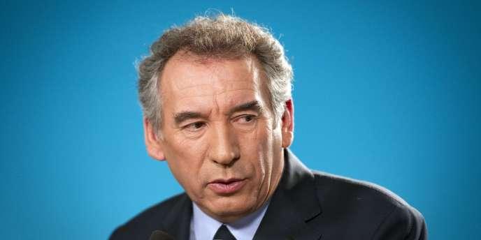 François Bayrou, le 1er février.
