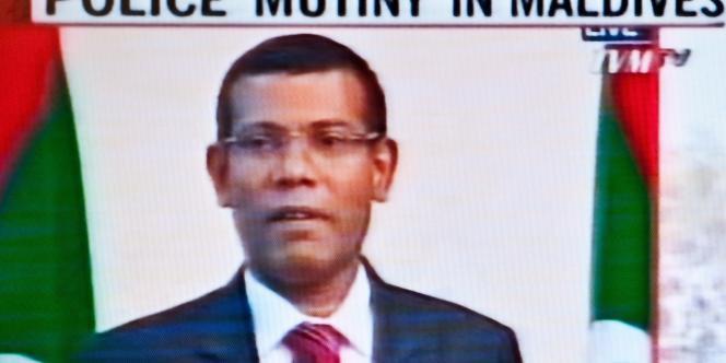 Le président des îles Maldives, Mohamed Nasheed, le 7 février.