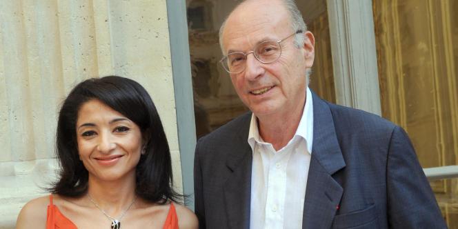 Jeannette Bougrab et Boris Cyrulnik, le 29 septembre à Paris.