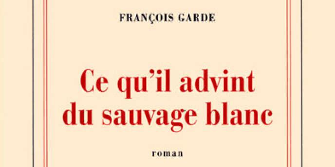 Couverture de l'ouvrage de François Garde,