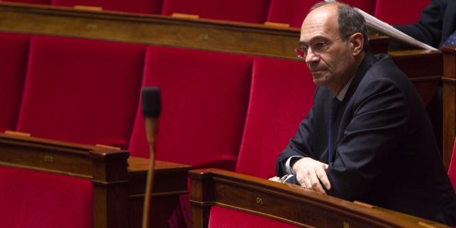 Confronté à l'ex-comptable des Bettencourt, Claire Thibout, le 5 septembre, l'ancien trésorier de l'UMP Eric Woerth (ici à l'Assemblée nationale, le 7 février 2012) a nié tout financement illégal de la campagne de Nicolas Sarkozy de 2007.