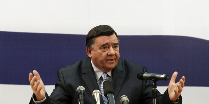 George Karatzaferis, leader du parti d'extrême-droite grec.
