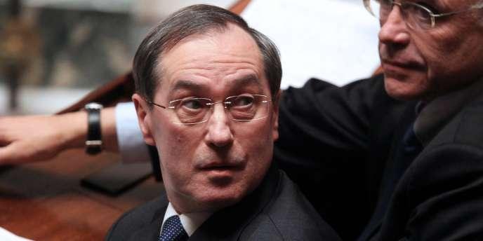 Claude Guéant, le 8 février à l'Assemblée nationale.