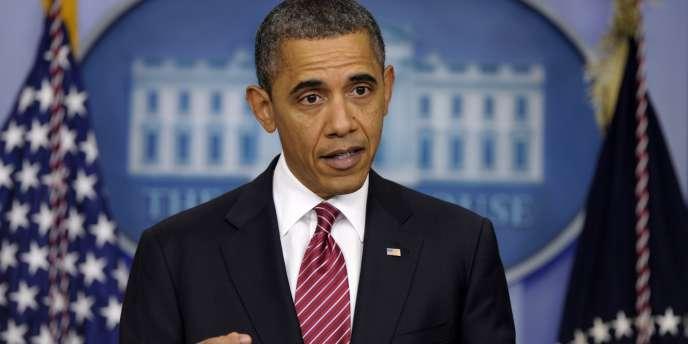 Barack Obama, le 10 février 2010.