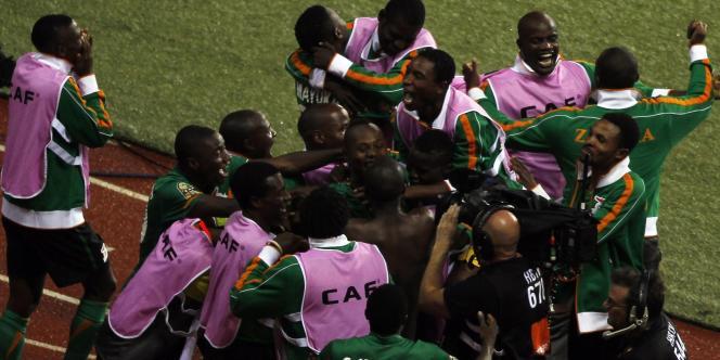 La Zambie a créé la surprise dans cette CAN 2012.