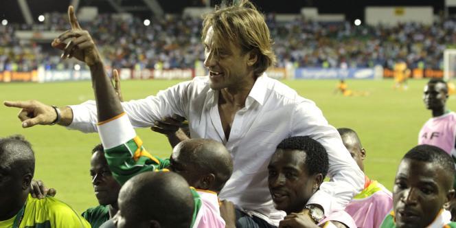 L'entraîneur de la Zambie, Hervé Renard.
