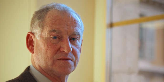 Eric de Montgolfier, alors procureur de la République de Nice le 11 décembre 2009 au palais de justice à Nice.