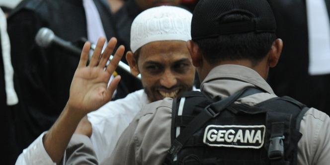 Umar Patek, le 13 février 2012, à Djakarta.