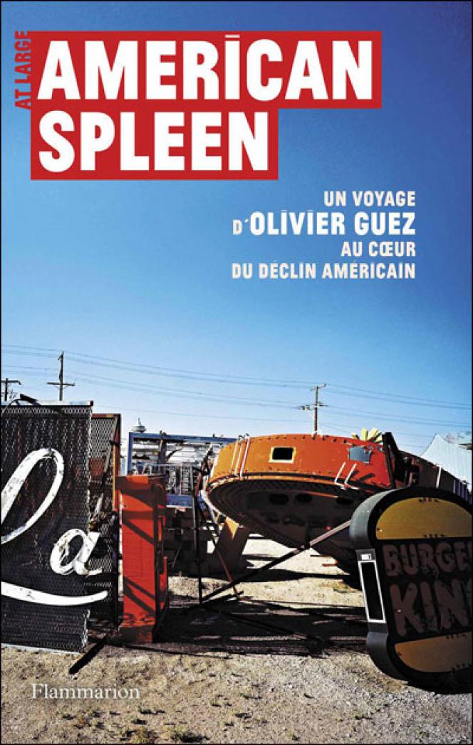Couverture de l'ouvrage d'Olivier Guez,
